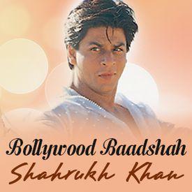 Play Bollywood Baadshah - Shahrukh Khan Songs Online for